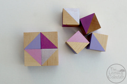 Daydream Wood Blocks Set