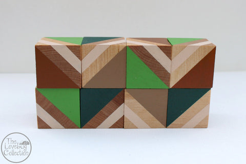 Forest Wood Blocks Set