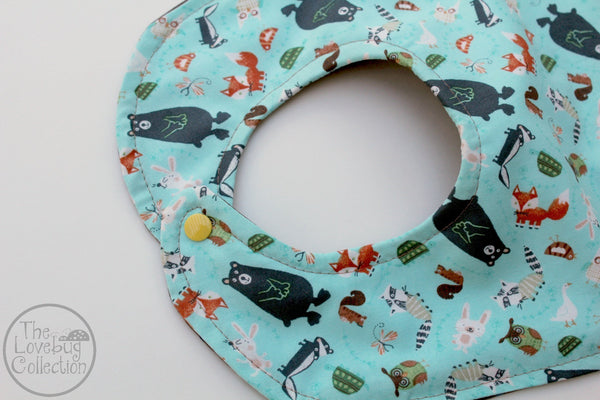 Forest Friends Feeding Bib