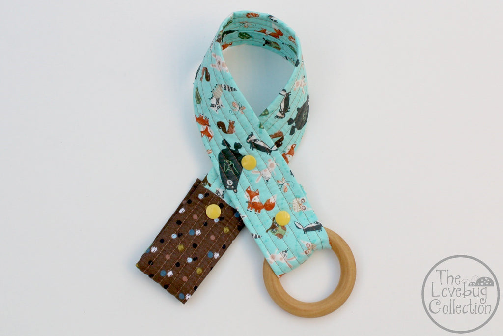 Forest Friends Toy Leash
