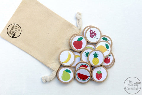 Fruit Memory Game Set
