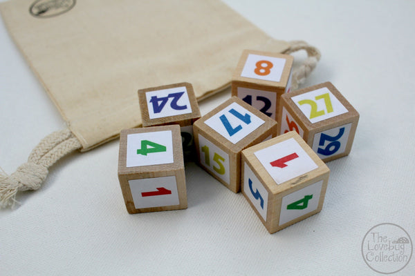 Roll it, Write it, Count it - Dice and Worksheet Set