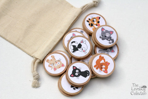 Cats Memory Game Set