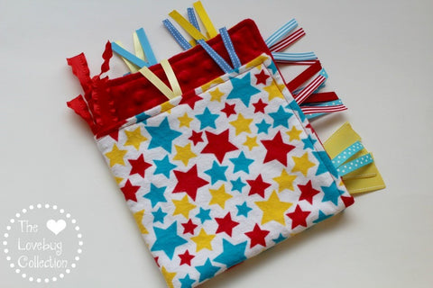 Primary Stars Ribbon Blanket
