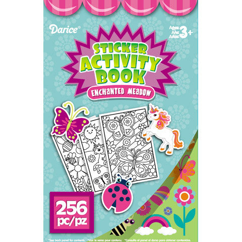 Enchanted Meadow Sticker Activity Book