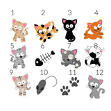 Cats TicTacToe Game - 12 Image Choices