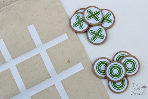 X and O TicTacToe Game Set