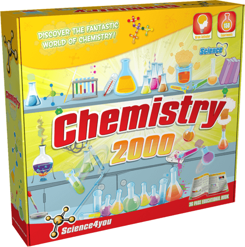 Science Kit for Kids Chemistry 2000 front side
