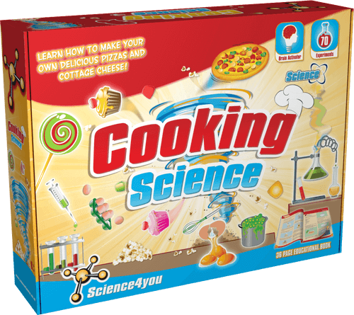 Cooking Science Kit for Kids front side