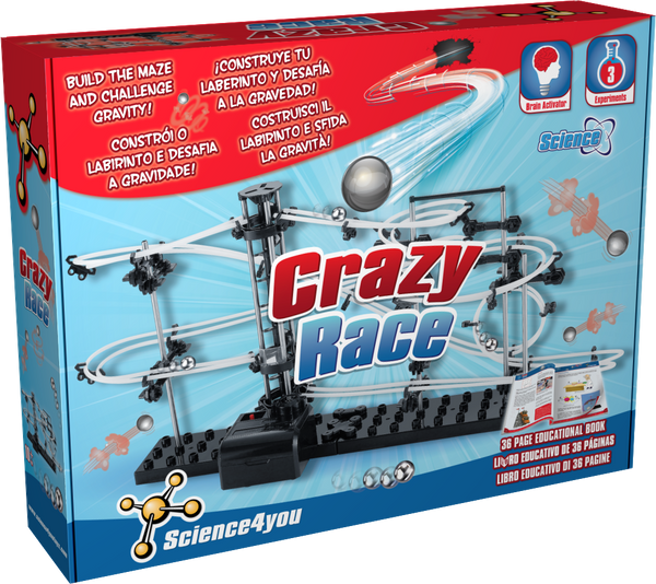 educational toy crazy race front side