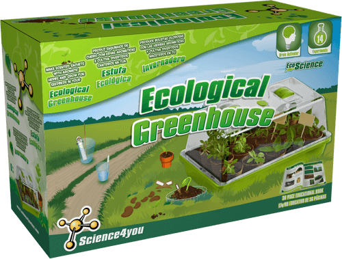 Ecological Greenhouse Educational Kit font side