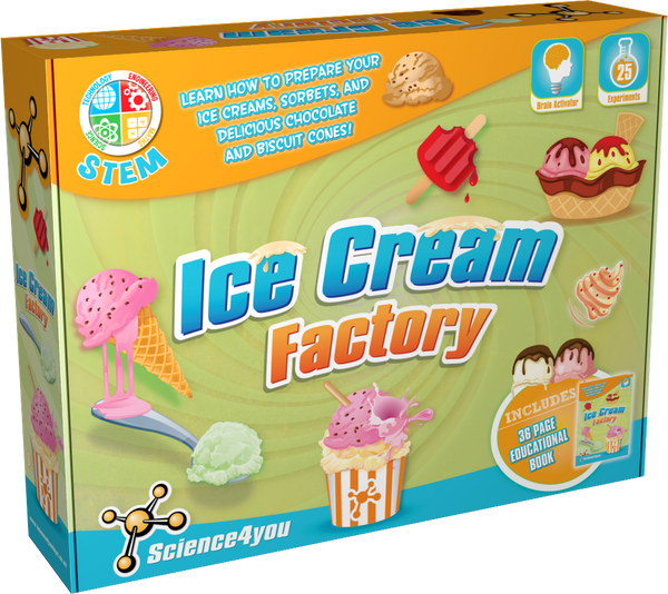 Ice Cream Factory Educational Toy front side