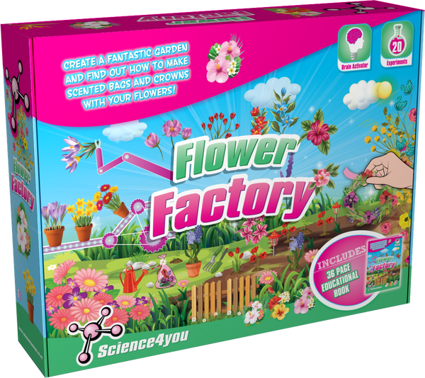 Flower Factory Science Kit front side