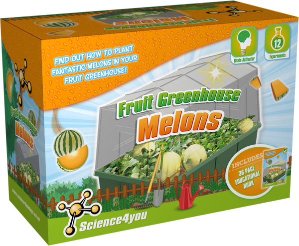 Melons Greenhouse Educational Kit font side