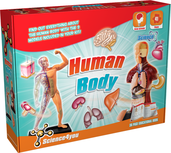 Human Body Science Kit front side