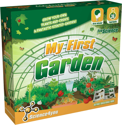 My First Garden Educational Kit for Kids front side