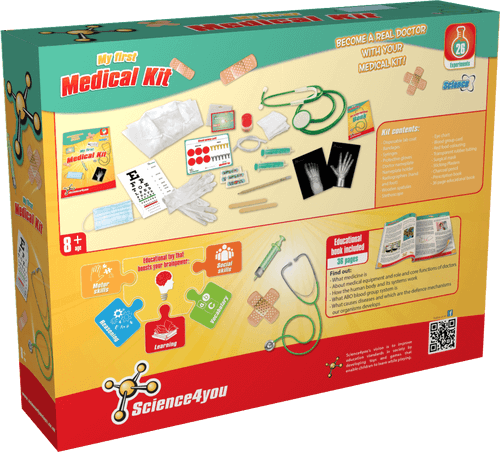 My First Medical Educational Kit for Kids back side