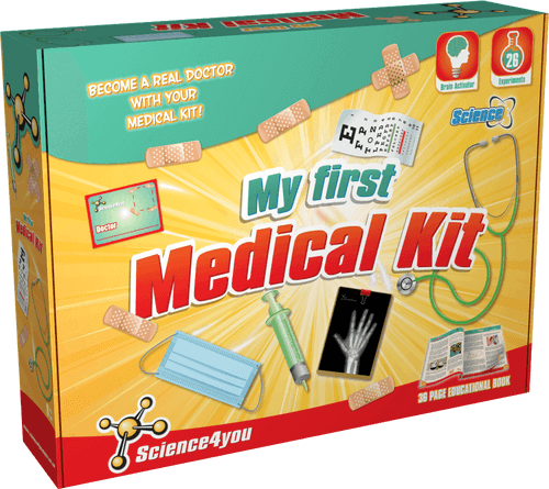 My First Medical Educational Kit for Kids front side
