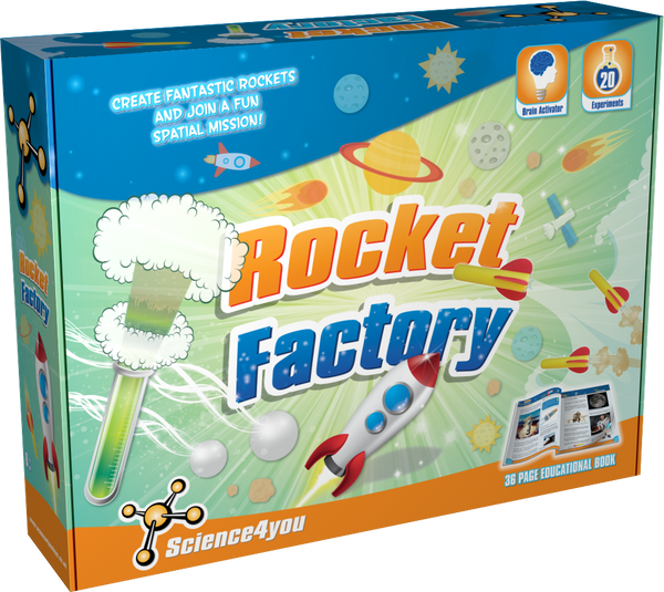 Rocket Factory Scientific Toy front side