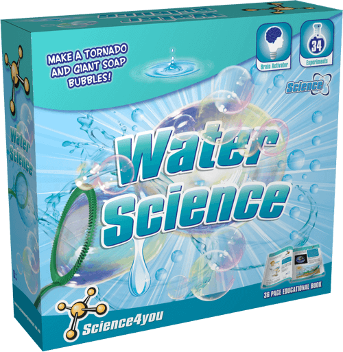 The Water Science Kit for Kids front side