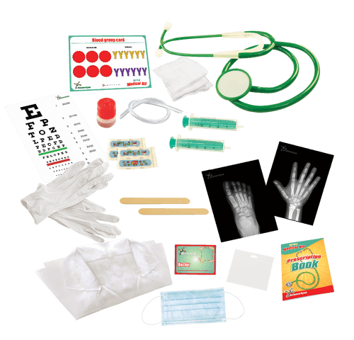 My First Medical Educational Kit for Kids content