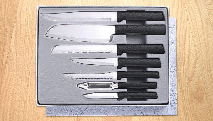 Rada Cutlery Starter Gift Set G238 Black SSR Handle