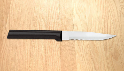 Rada Cutlery Serrated Steak Knife Black SSR Handle