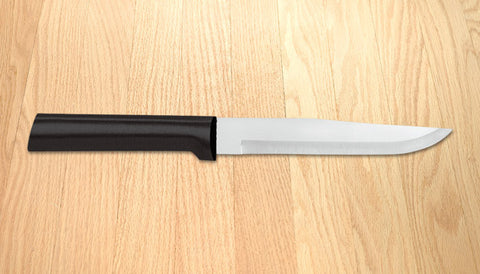 Rada Cutlery Stubby Butcher Knife W206 Black SSR Handle