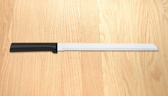 "Rada Cutlery 10"" Bread Knife W212 Black SSR Handle"