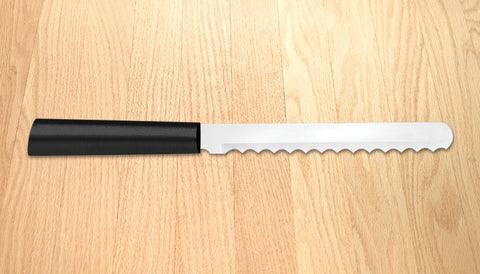 Rada Cutlery Bagel Knife Black SSR Handle