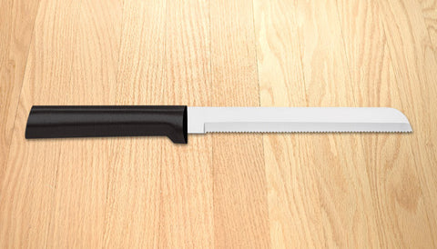 "Rada Cutlery Bread Knife 6"" Black SSR Handle"