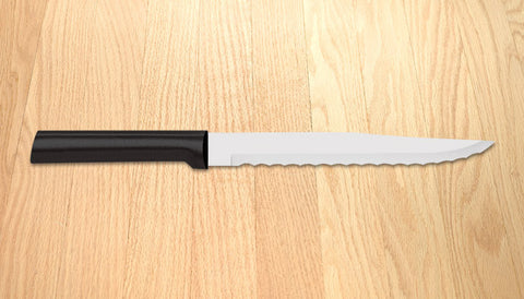 Rada Cutlery Serrated Slicer Black SSR Handle