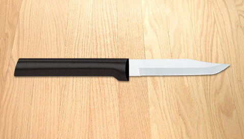 Rada Cutlery Serrated Regular Paring Black SSR Handle