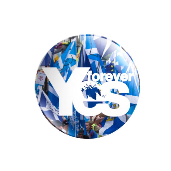 forever Yes 59mm size Badge or Magnet