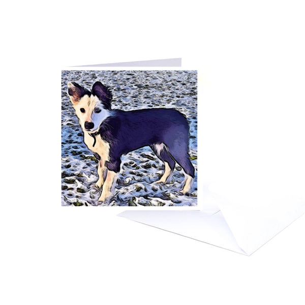 Laoch Notecard and matching envelope