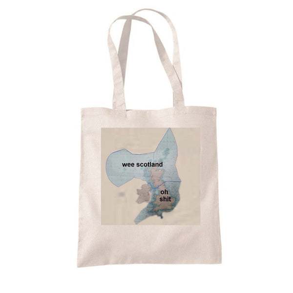 Maritime Boundary Map - Wee Scotland? Tote Bag