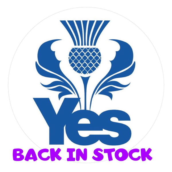 Car bumper window sticker design by defiaye yes thistle back in stock