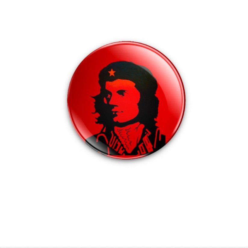 Che Burns courtesy of Robrtson Wellen 38mm choose badge or magnet