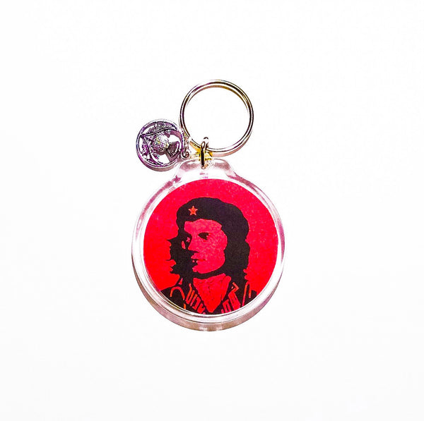 Che Burns Keychain design courtesy of Robertson Wellen