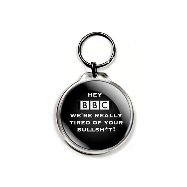 Keychain - 'Hey BBC We're Really Tired of Your Bullsh*t'