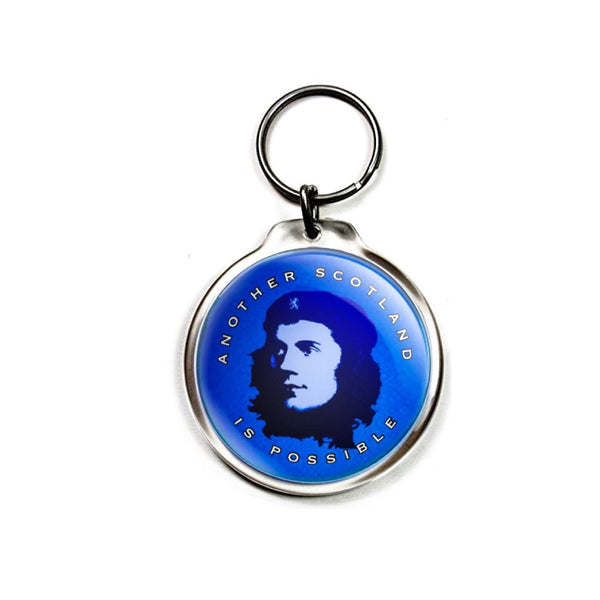 Indy Keychain - 'Another Scotland is Possible' with the Bard