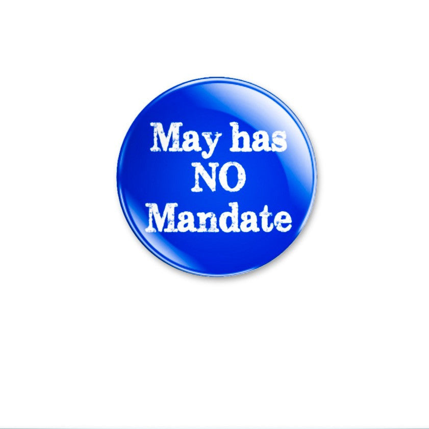 May has NO Mandate 59mm size. Choose badge or magnet