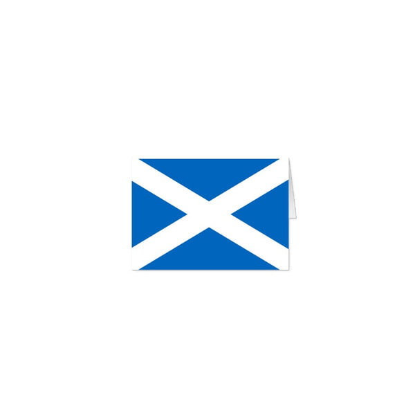 Saltire A5 blank note cards - 10 with matching envelopes