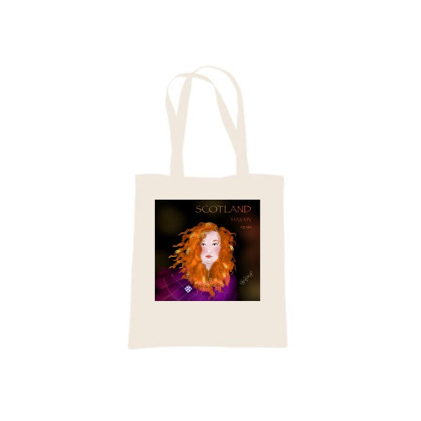 Scotland is in my Heart design by Raiph Tote Bag