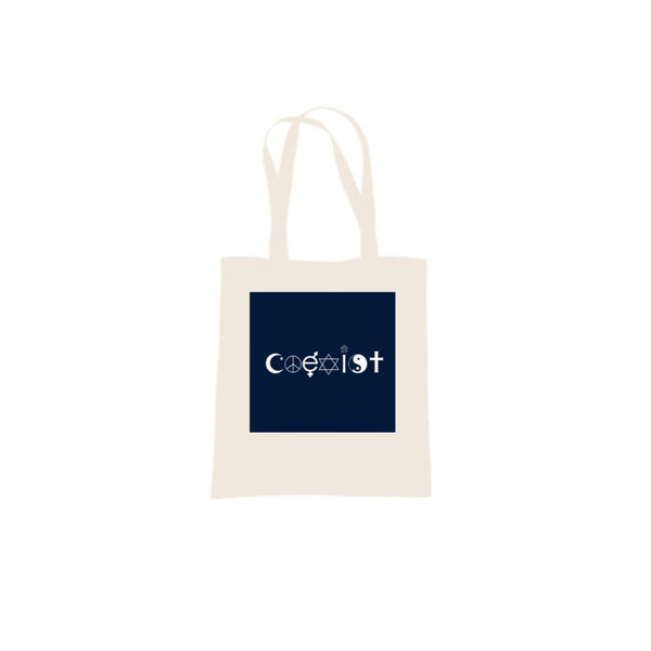 Coexist Tote Bag