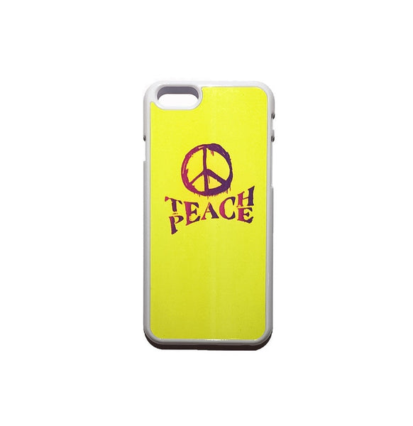 Teach Peace Design by Brave Many Phone Case