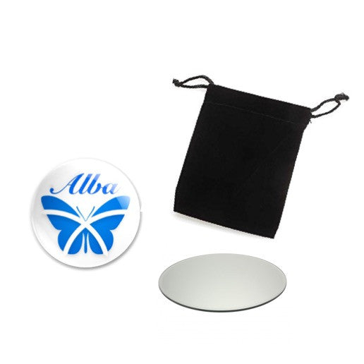 Alba Saltire Butterfly Compact Mirror