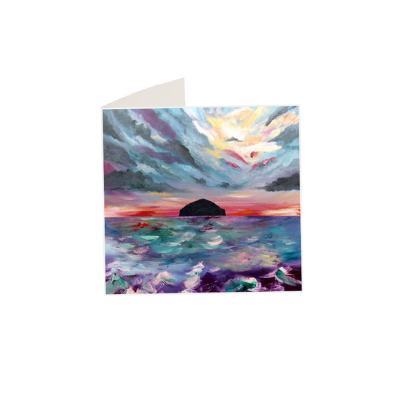 Ailsa Craig Notecard and matching envelope by Brave Many/DefiAye