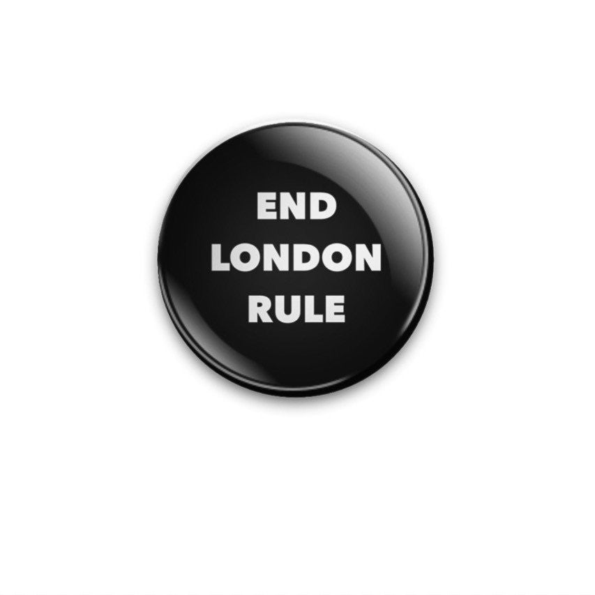 38mm badge End London Rule