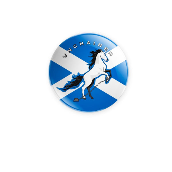 Unchained Unicorn by Brave Many 59mm size Badge or Magnet